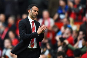 MANCHESTER, ENGLAND - MAY 03:  A  dejected Ryan Giggs the Manchester United interim manager walks off the pitch following his team's 1-0 defeat during the Barclays Premier League match between Manchester United and Sunderland at Old Trafford on May 3, 2014 in Manchester, England.  (Photo by Shaun Botterill/Getty Images)