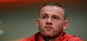 Manchester United's Wayne Rooney during the press conference